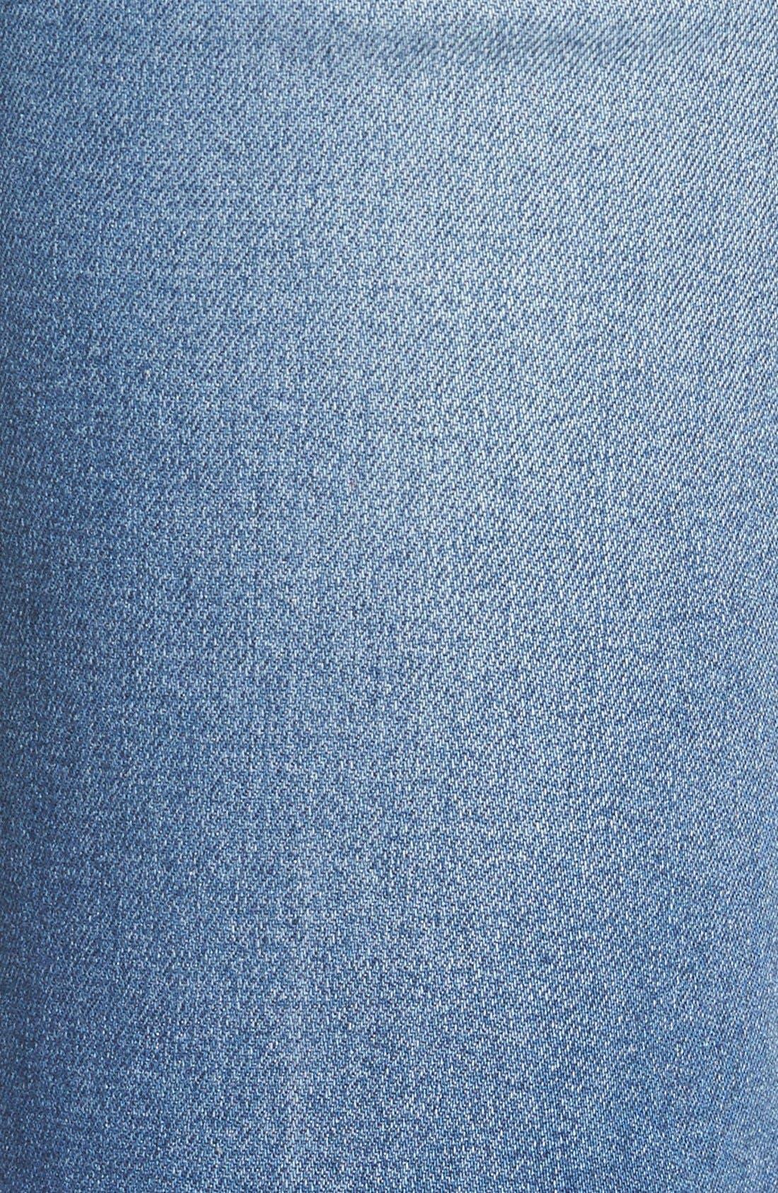 'Flea Market' Flare Jeans,                             Alternate thumbnail 5, color,                             Maribel