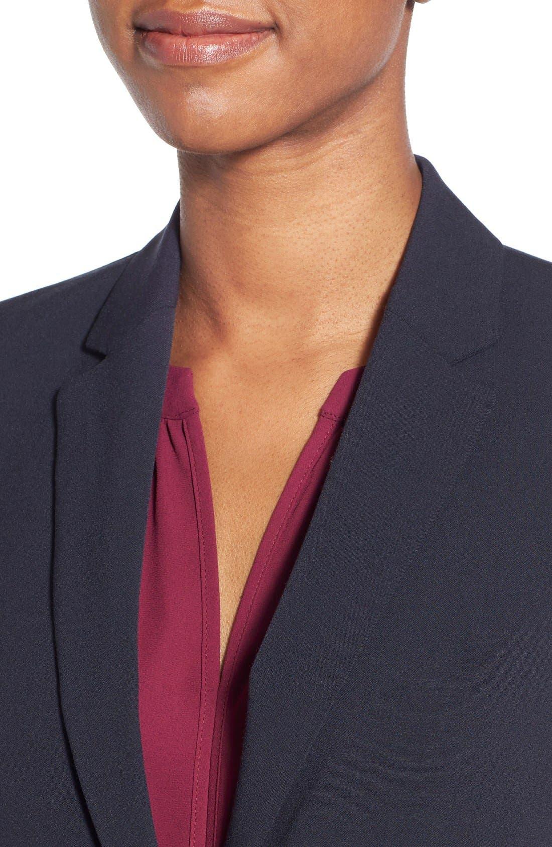 Alternate Image 5  - T Tahari Jolie Stretch Woven Suit Jacket