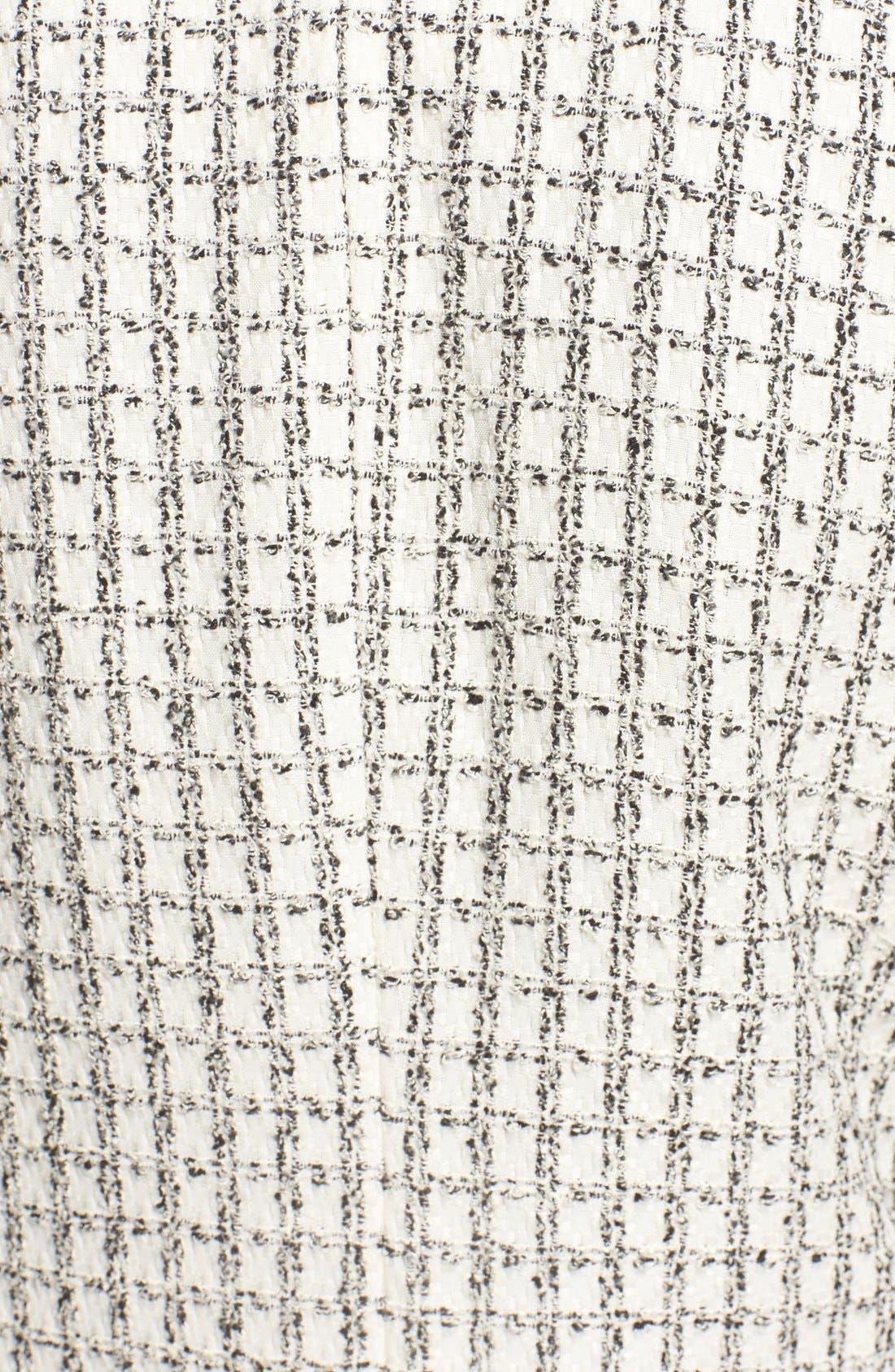 Alternate Image 5  - Halogen® Textured One-Button Blazer (Regular & Petite)