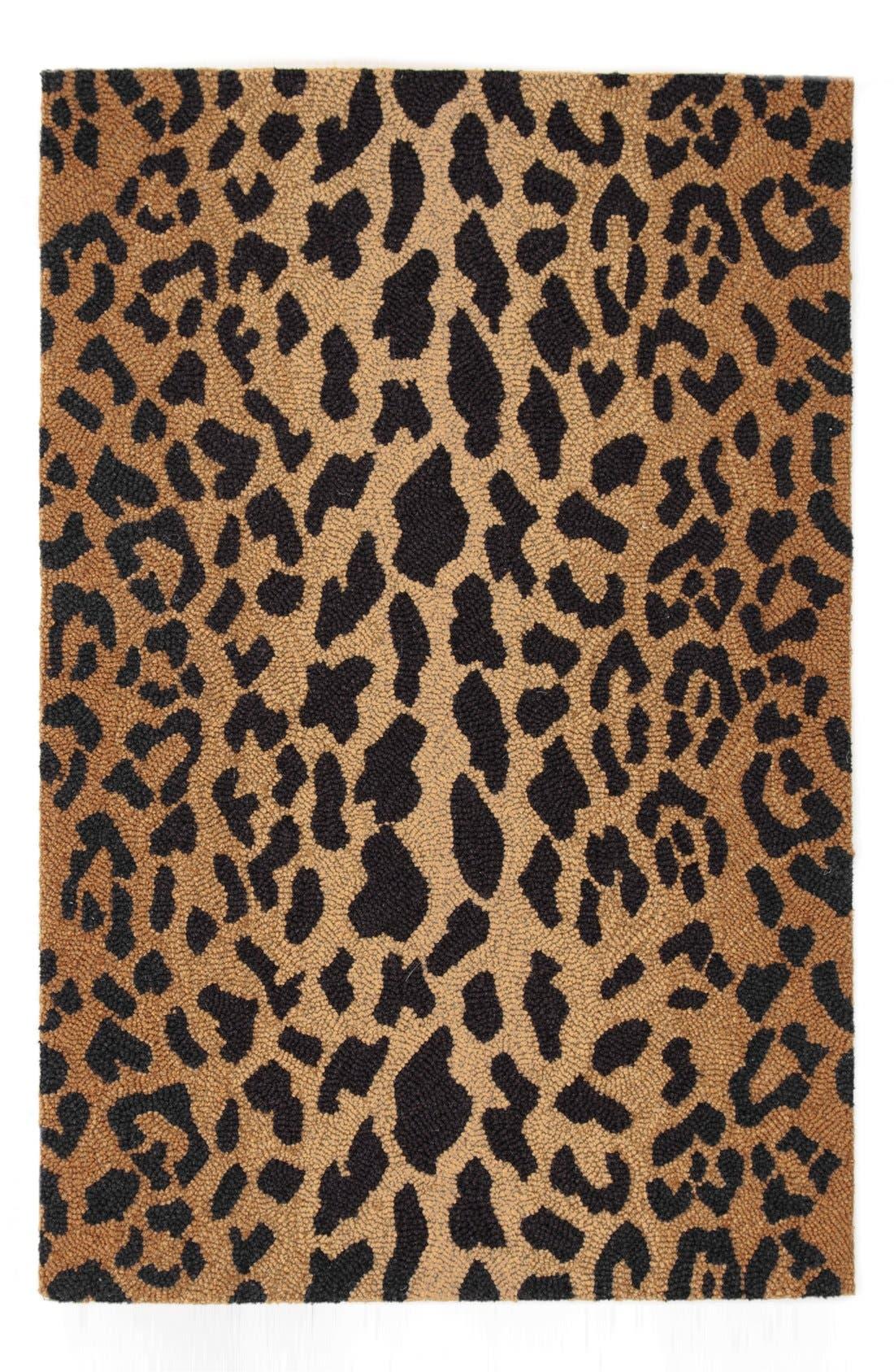 Main Image - Dash & Albert Leopard Print Wool Rug