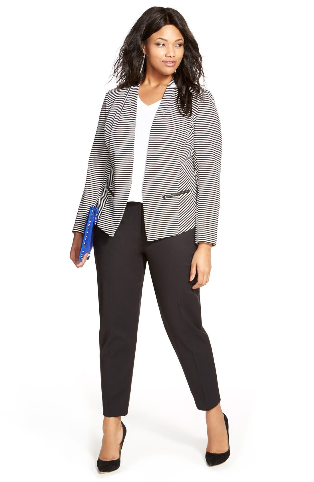 Sejour Jacket, Tunic & Pants (Plus Size)