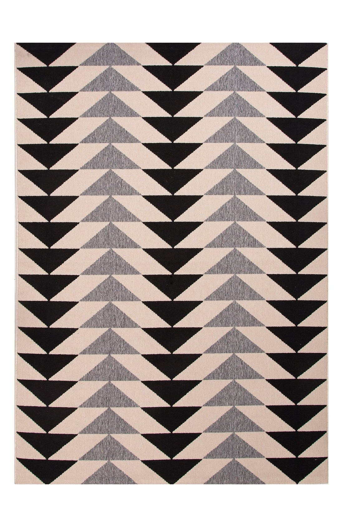 Jaipur 'Arrows' Indoor/Outdoor Rug