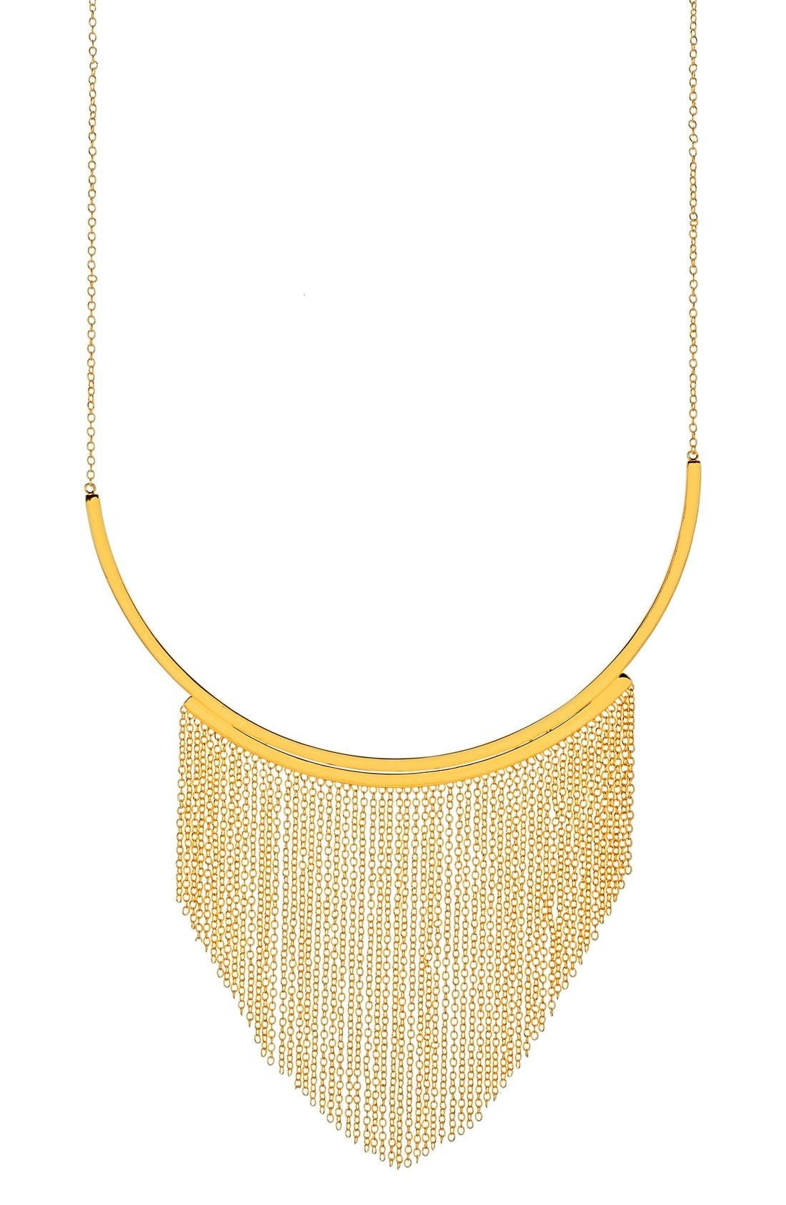 gorjana 'Meg' Fringe Collar Necklace