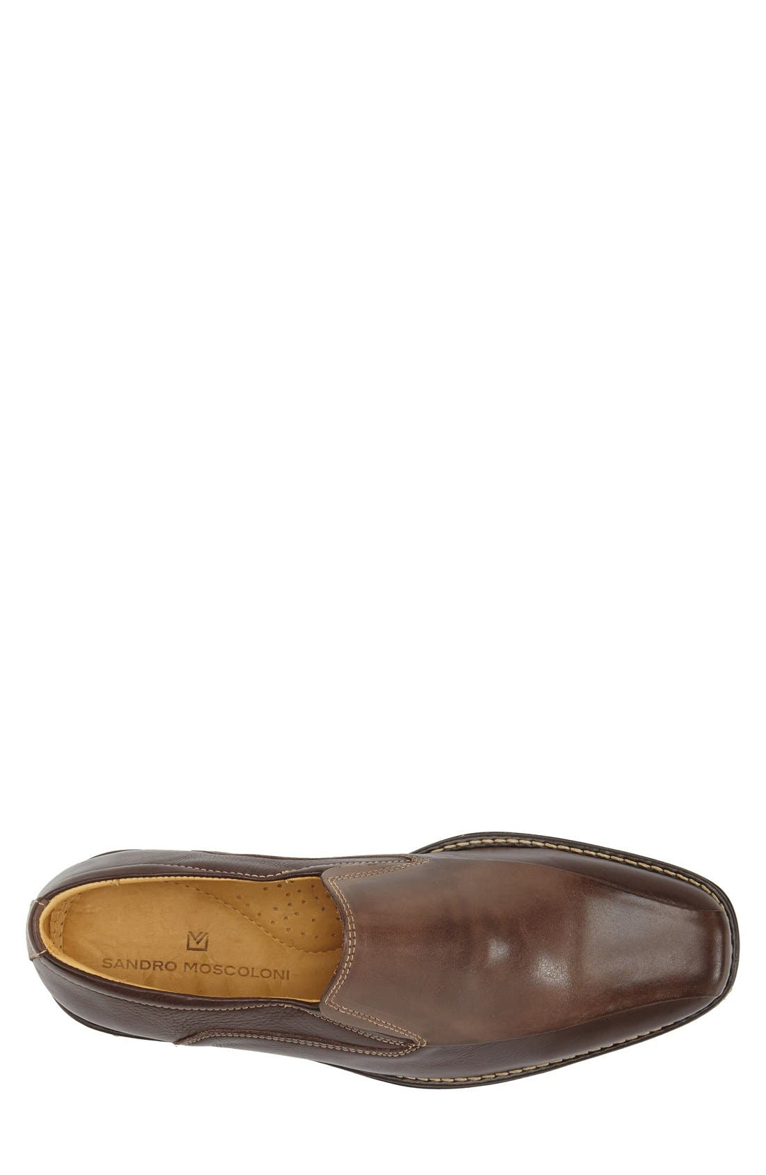 'Jacobs Venetian' Slip-On,                             Alternate thumbnail 3, color,                             Brown/ Brown