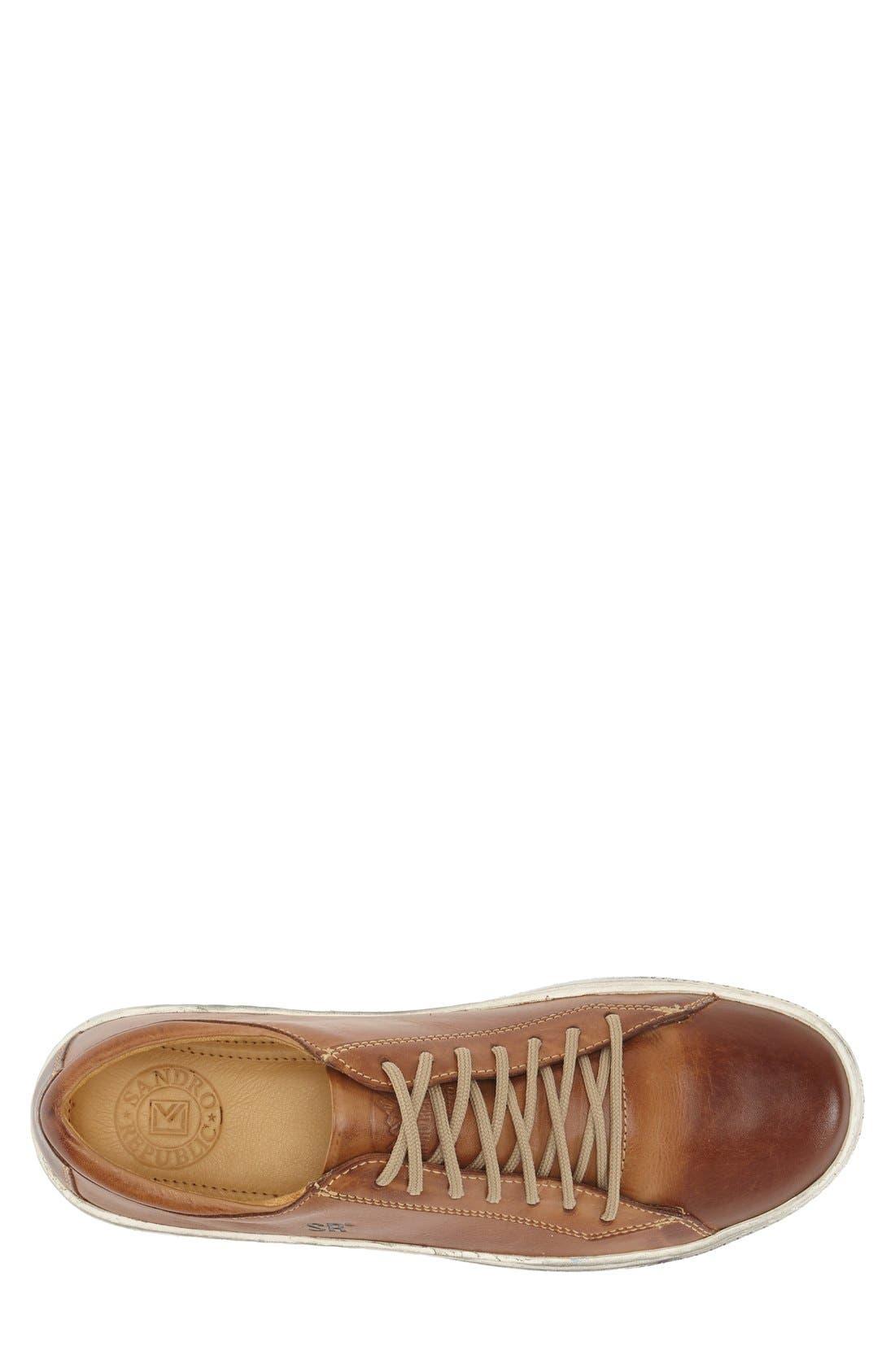 'Rolly' Sneaker,                             Alternate thumbnail 3, color,                             Tan
