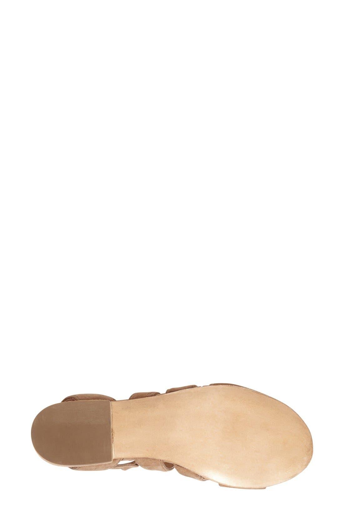 Alternate Image 4  - Steve Madden 'Kitty' Ghillie Sandal (Women)