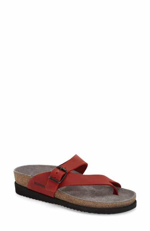 Mephisto 'Helen' Sandal (Women) - Women's Red Wedge Sandals Nordstrom Nordstrom