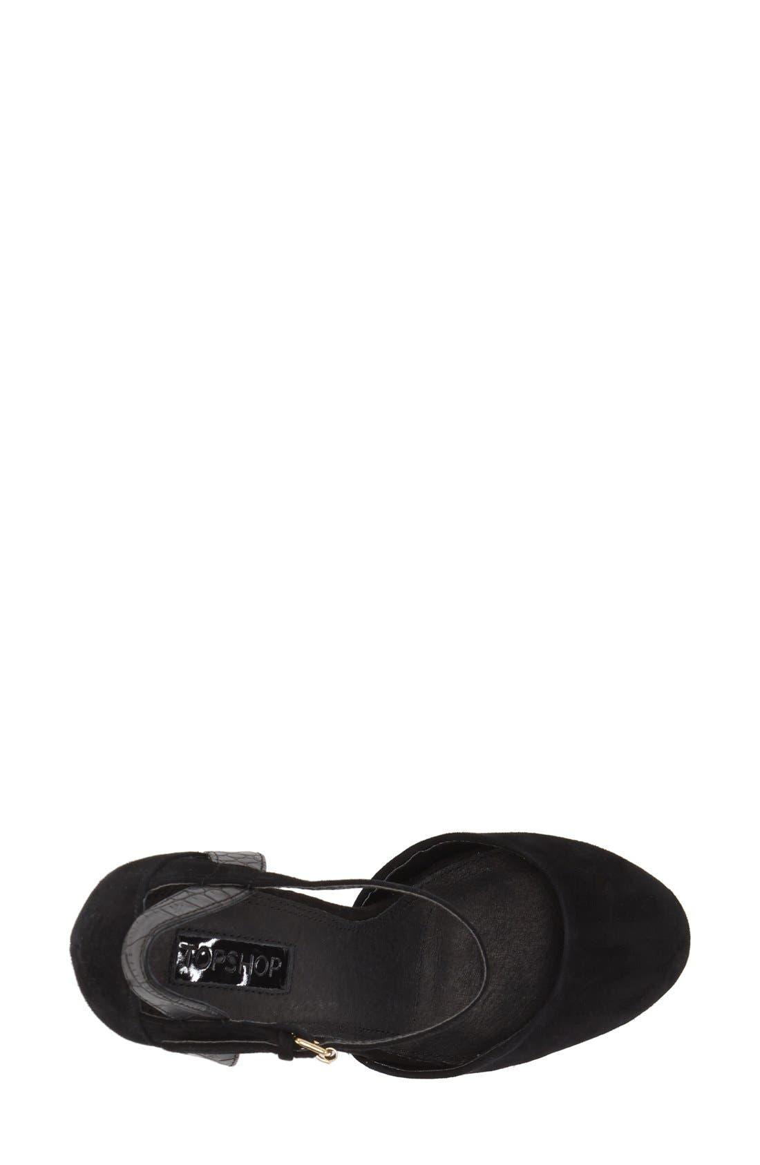 Alternate Image 3  - Topshop 'Shoegirl' Sandal (Women)