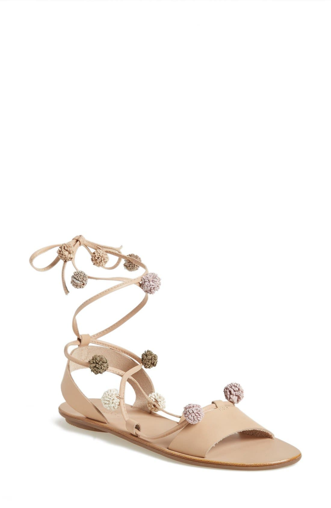 Alternate Image 1 Selected - Loeffler Randall 'Saskia' Flat Sandal (Women)