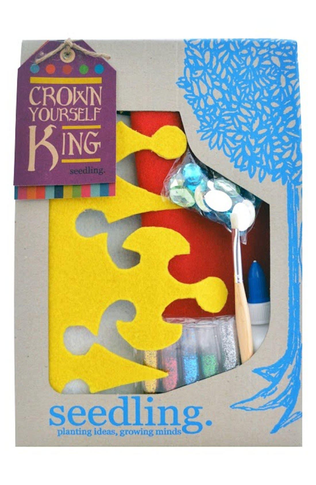 Alternate Image 2  - seedling 'Crown Yourself King' DIY Craft Set