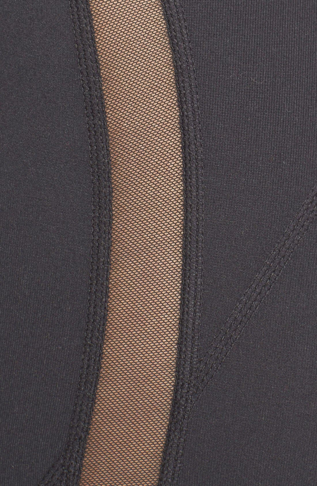 Alternate Image 5  - Zella Sheer to Here High Waist Leggings