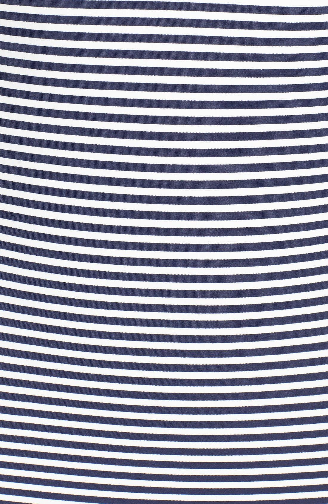 Alternate Image 5  - Tory Burch Stripe Underwire One-Piece Swimsuit