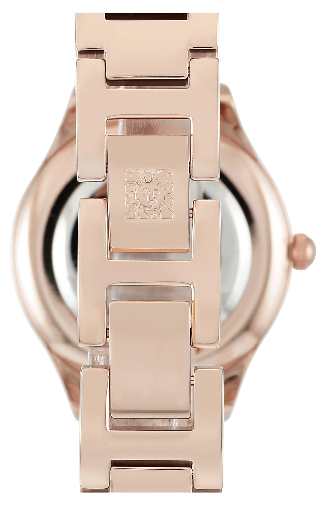 Alternate Image 2  - Anne Klein Mesh Strap Watch, 30mm