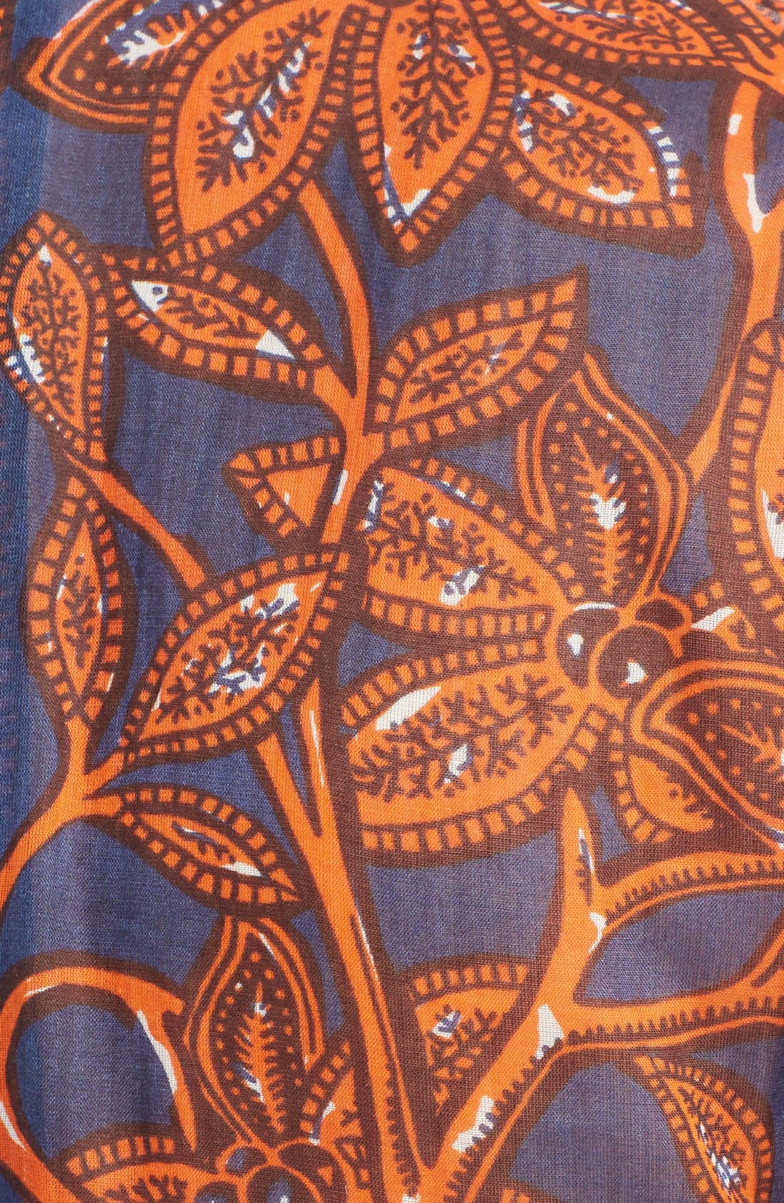 Alternate Image 3  - Valentino Giraffe Print Cotton Gown