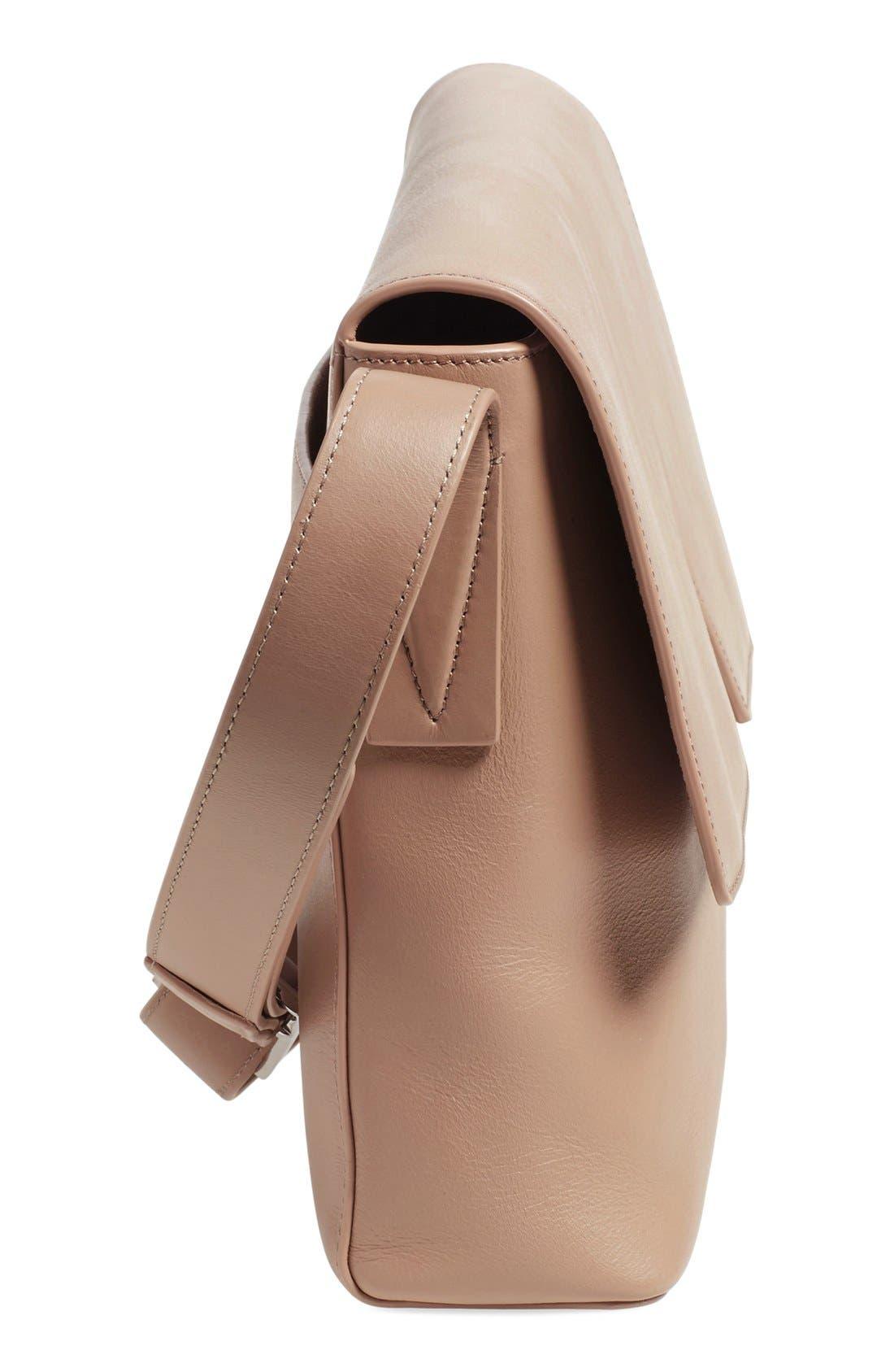 Alternate Image 5  - Vince 'Medium Signature' Leather Crossbody Bag