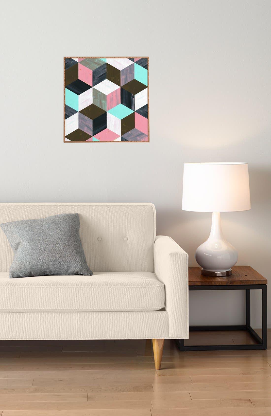 Alternate Image 3  - Deny Designs 'The Runaway' Framed Wall Art