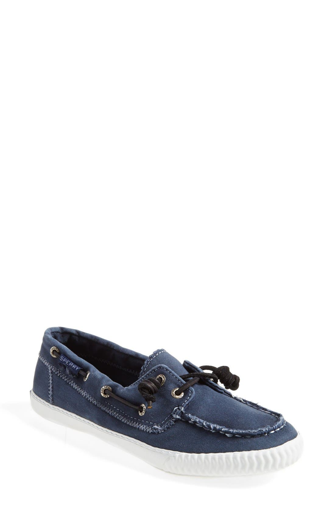 Paul Sperry 'Sayel Away' Sneaker,                             Main thumbnail 1, color,                             Navy