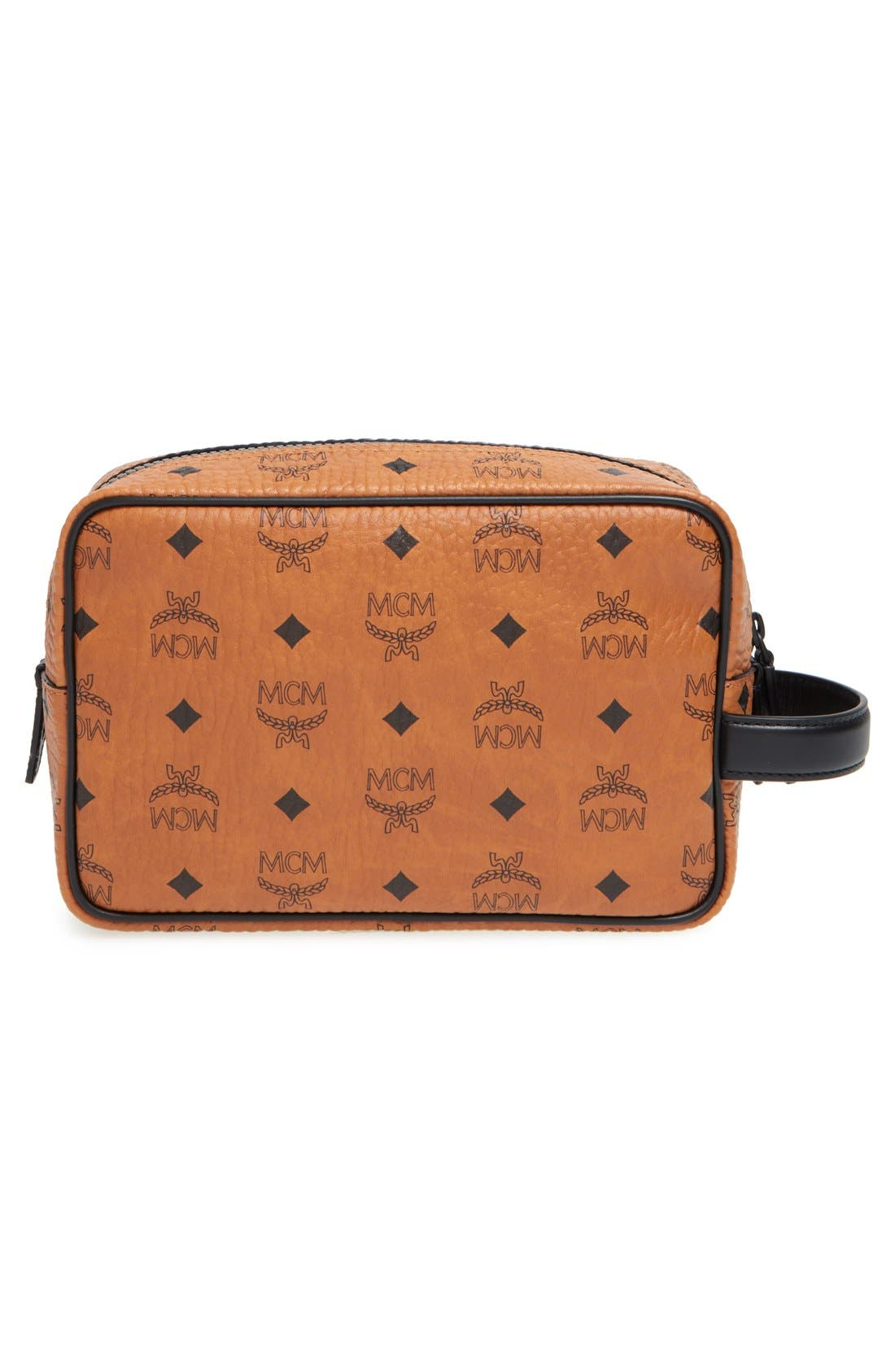 Alternate Image 3  - MCM 'Nomad - Visetos' Coated Canvas Cosmetics Case