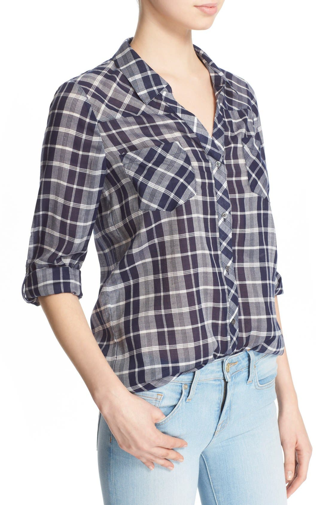 Alternate Image 4  - Soft Joie 'Daesha' Plaid Shirt