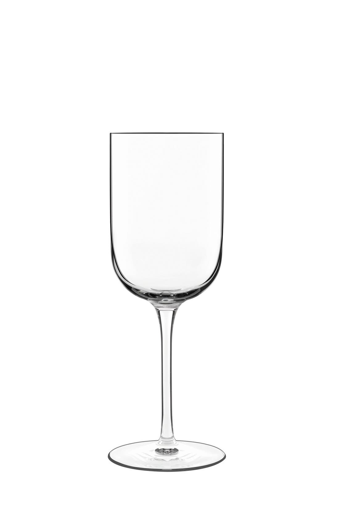 'Sublime' Red Wine Glasses,                             Main thumbnail 1, color,                             Clear