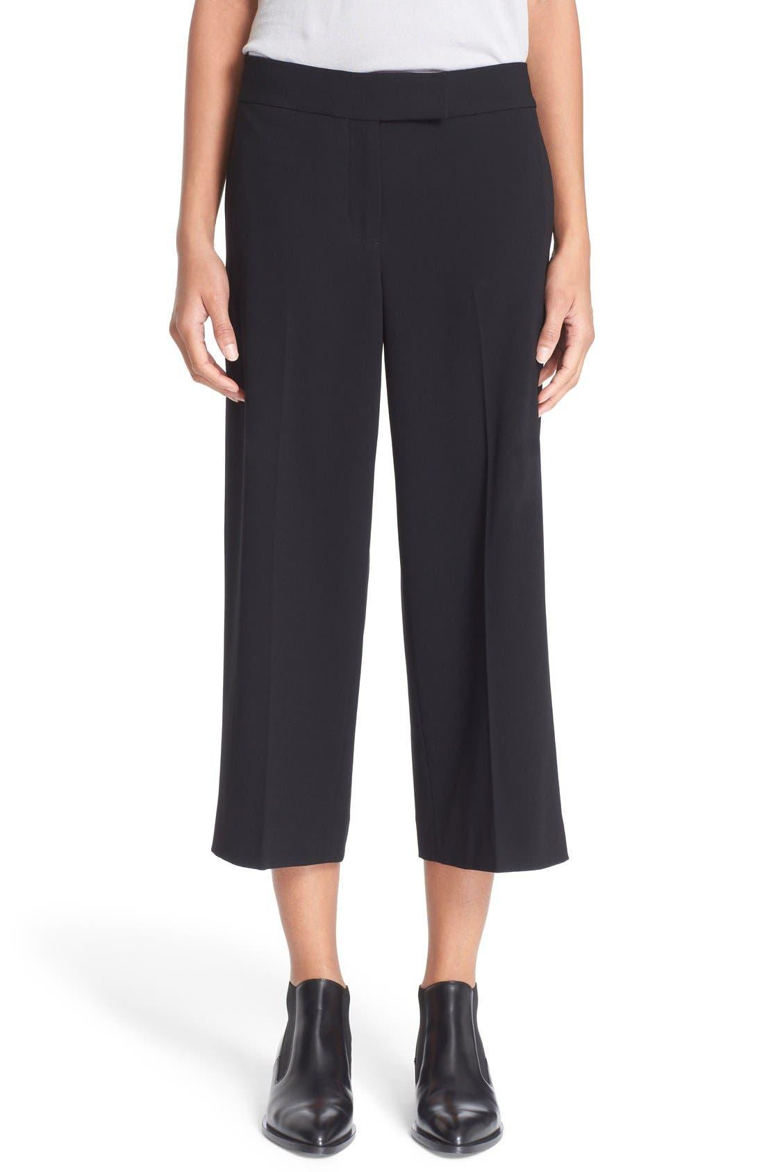 Alternate Image 1 Selected - DKNY Crop Wide Leg Pants