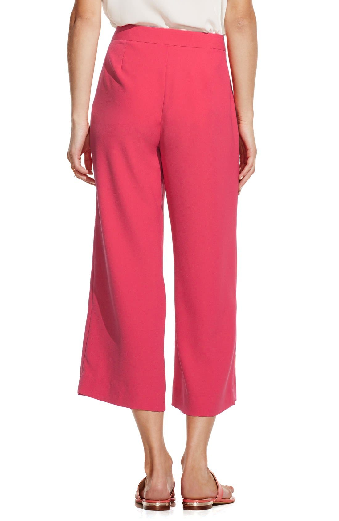 Alternate Image 2  - Vince Camuto Zip Front Culottes