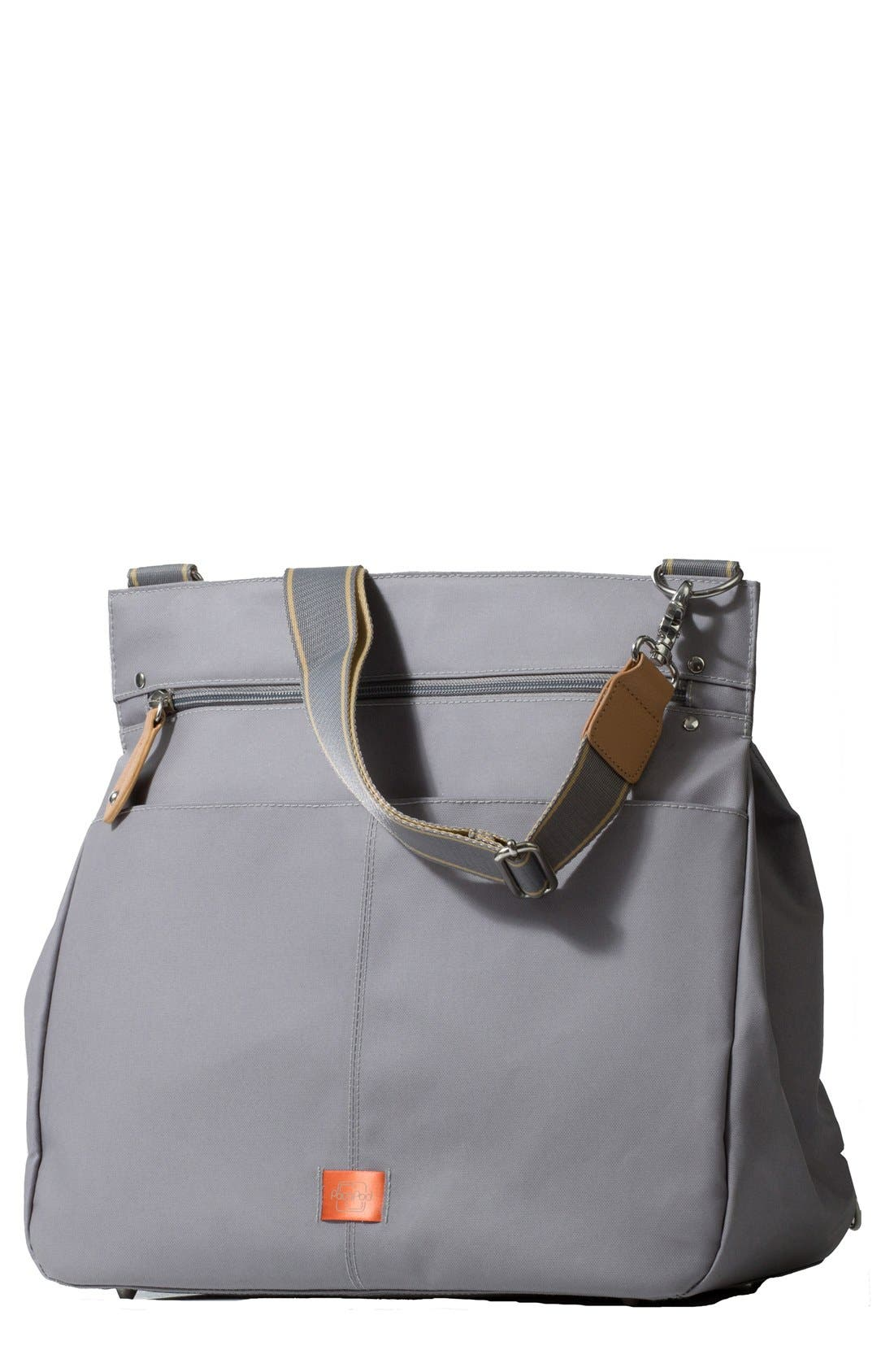 'Oban' Diaper Bag,                         Main,                         color, Elephant