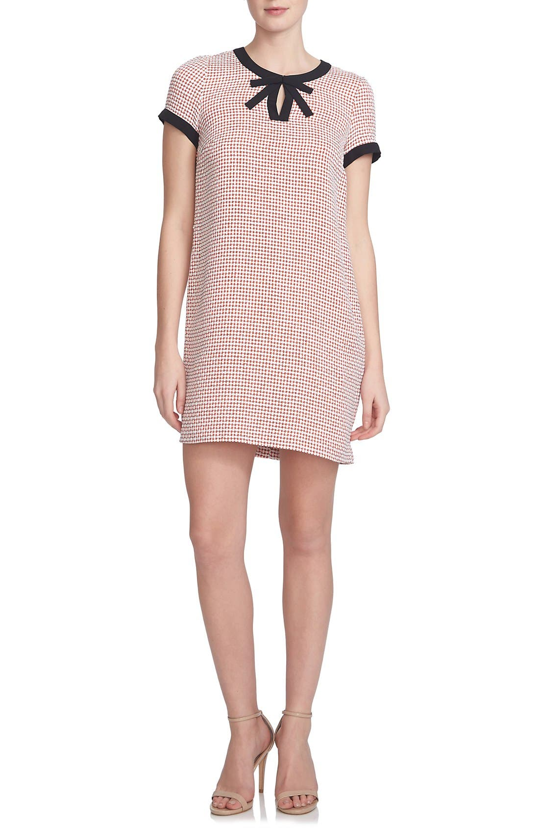 Alternate Image 1 Selected - CeCe 'Brandy' Woven Shift Dress