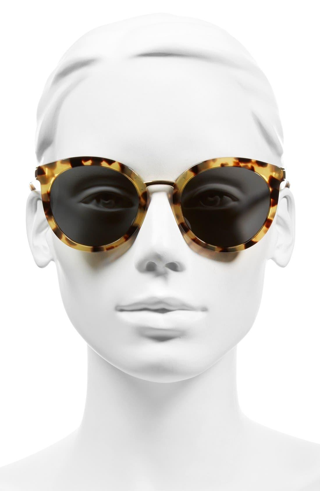 Alternate Image 2  - Dolce&Gabbana 52mm Round Sunglasses