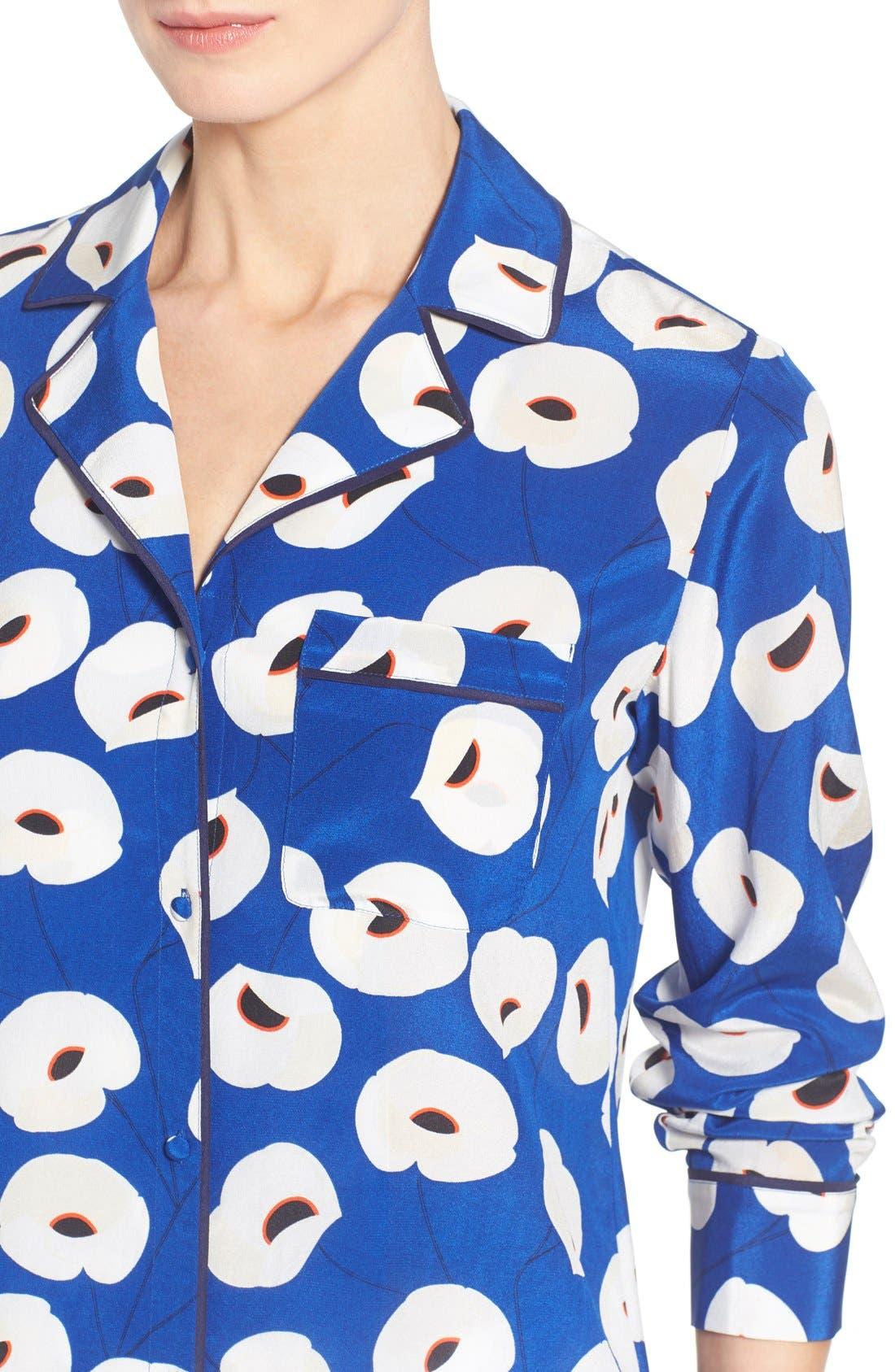 Alternate Image 4  - Olivia Palermo + Chelsea28 Silk Shirt