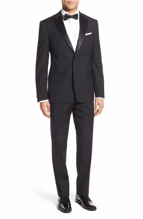 6b5c63613d6 Nordstrom Men s Shop Trim Fit Wool Tuxedo