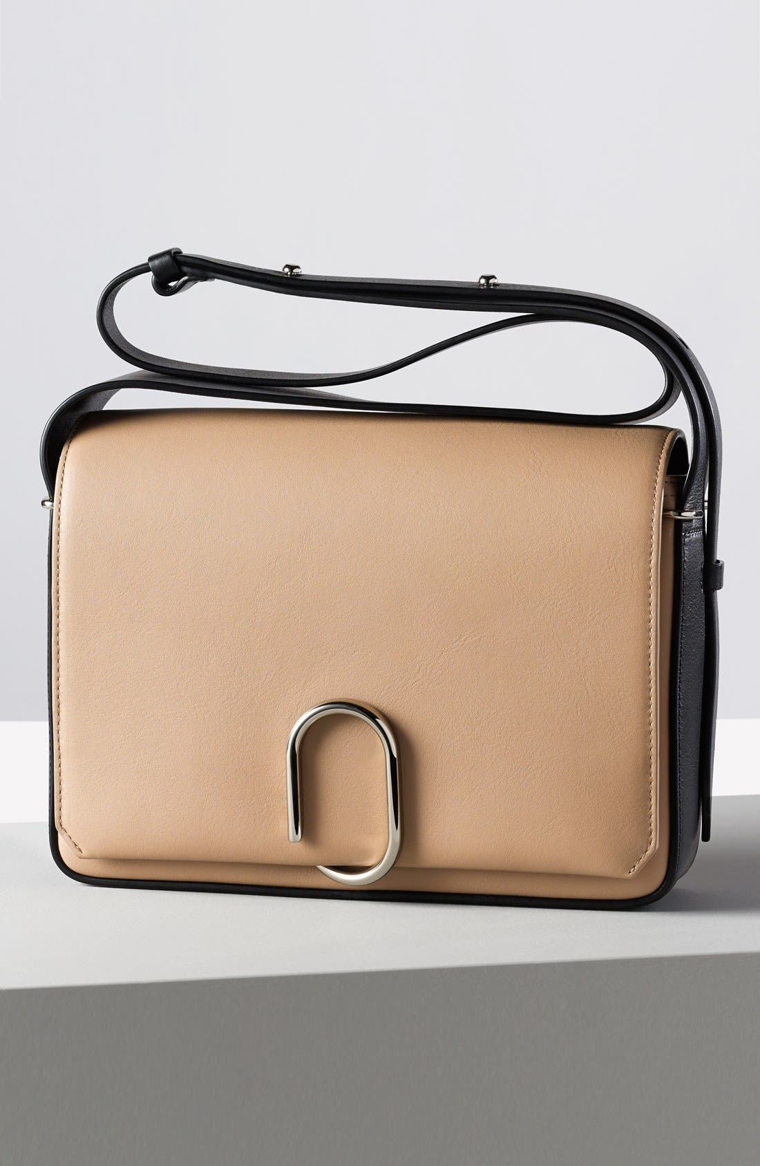 'Alix' Flap Shoulder Bag,                             Alternate thumbnail 8, color,