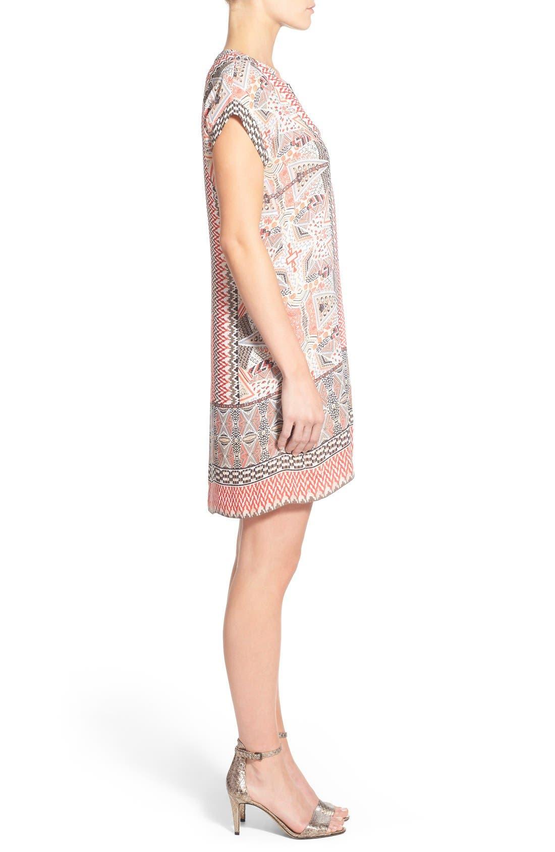 Alternate Image 3  - NIC+ZOE 'Prismatic' Print Shift Dress