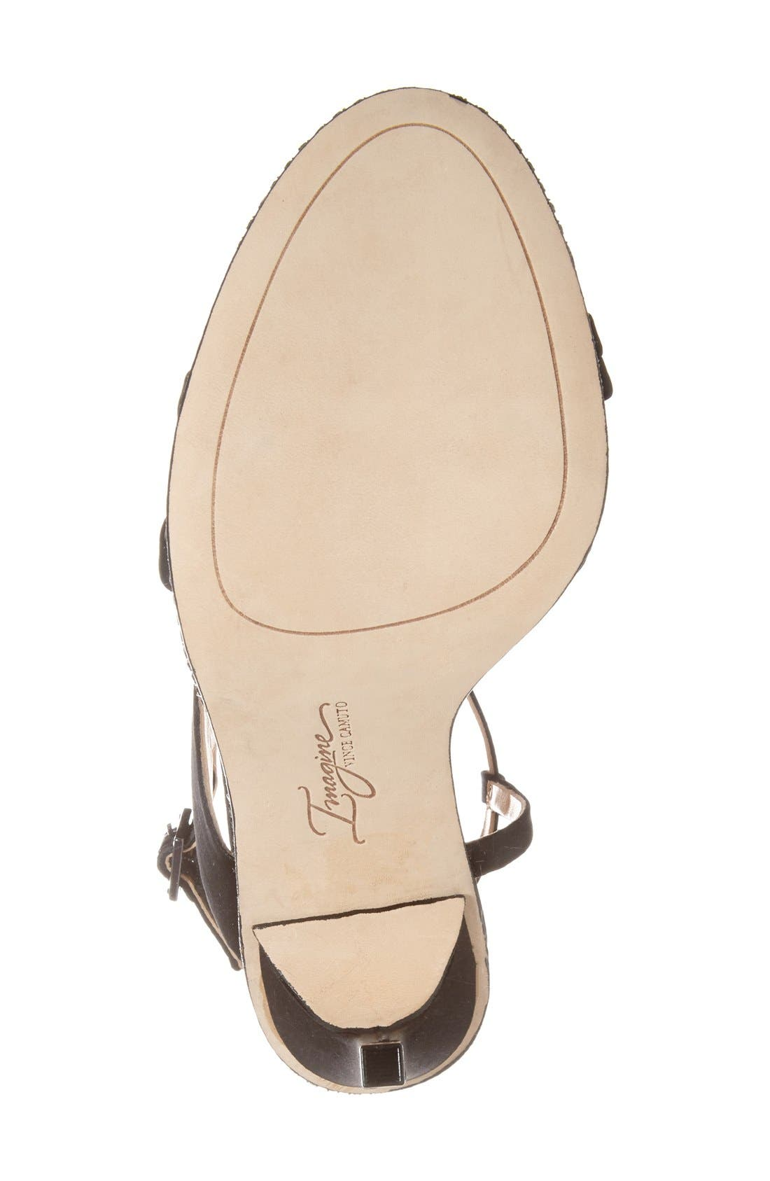 Alternate Image 4  - Imagine Vince Camuto 'Gian' Strappy Sandal (Women)