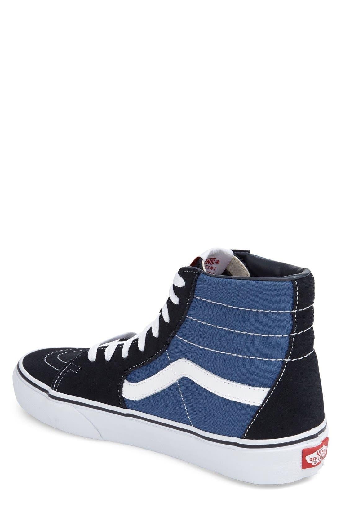 Alternate Image 2  - Vans 'Sk8-Hi' Sneaker (Men)