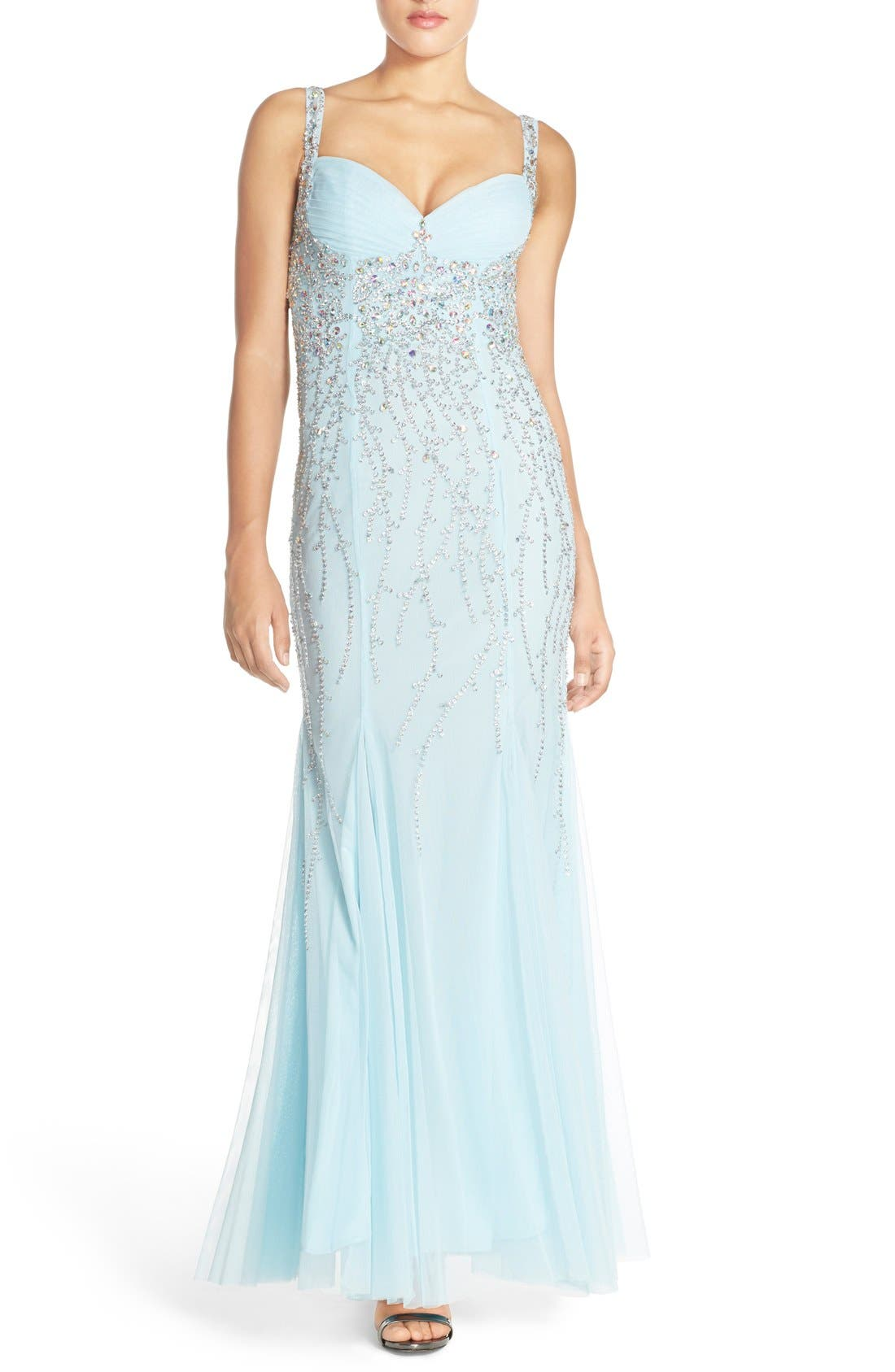 Alternate Image 1 Selected - Sean Collection Embellished Gown