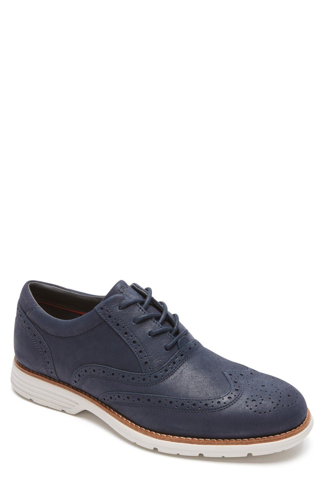 Total Motion Fusion Wingtip,                         Main,                         color, New Dress Blues