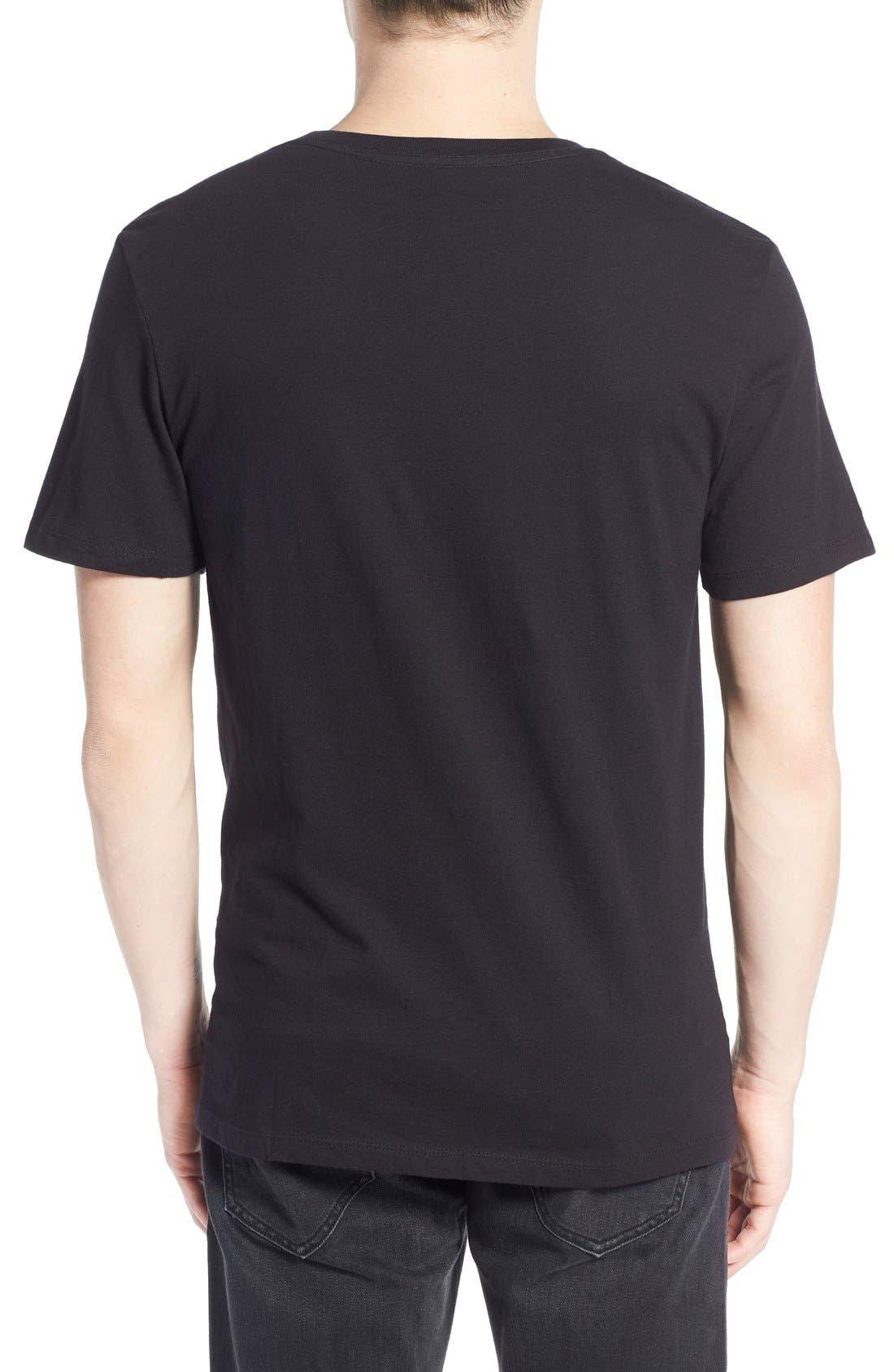 Alternate Image 2  - The Rail Slim Fit V-Neck T-Shirt