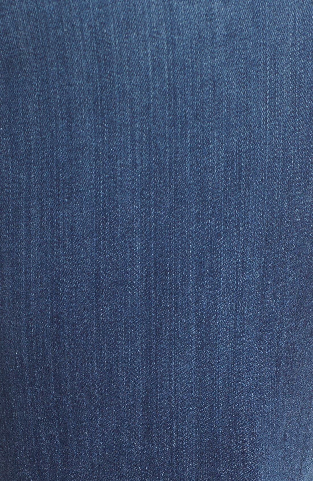 'Marilyn' Stretch Straight Leg Jeans,                             Alternate thumbnail 5, color,                             Anderson