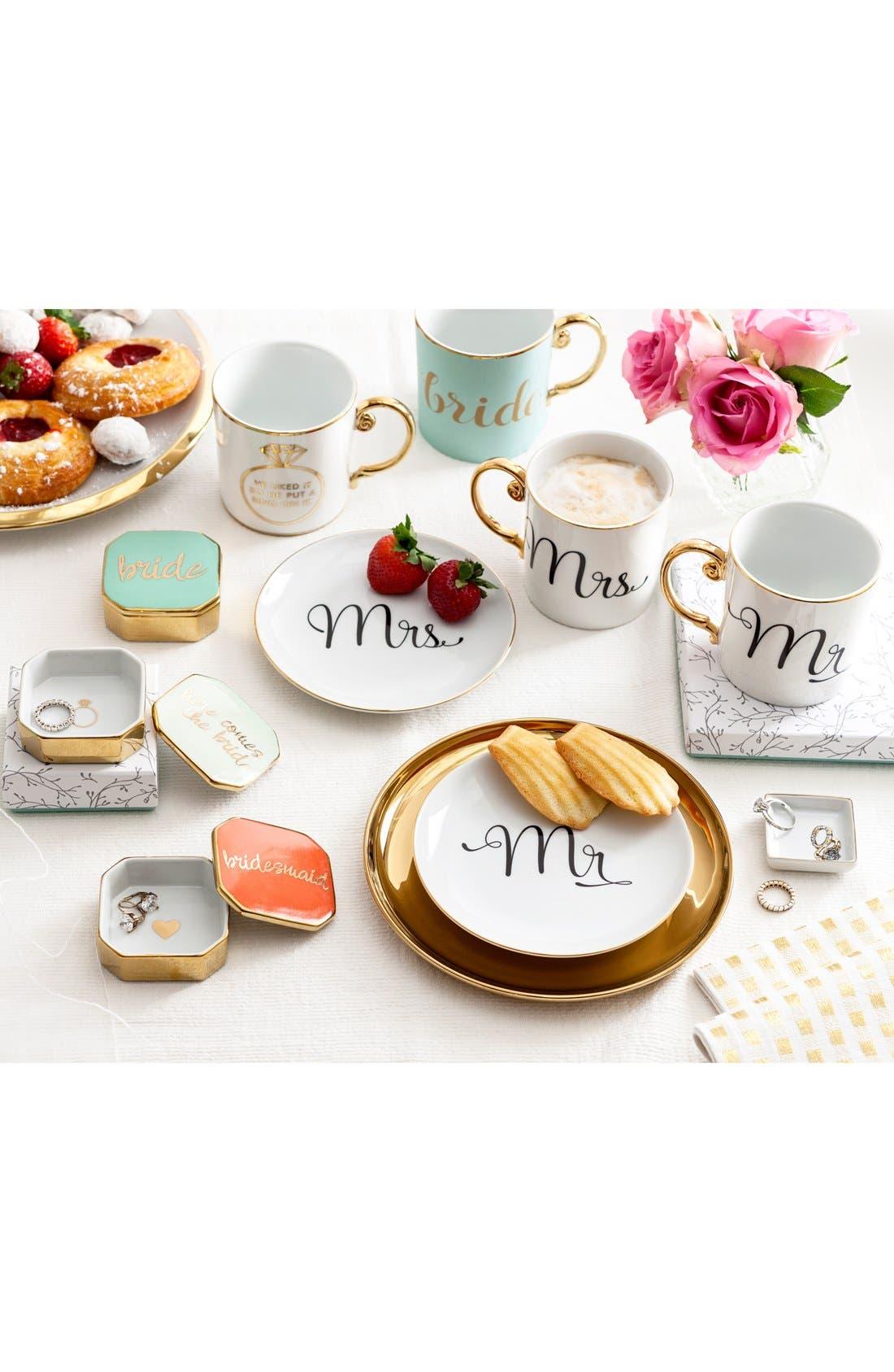 Alternate Image 2  - Rosanna 'He Liked It so He Put a Ring on It' Porcelain Coffee Mug