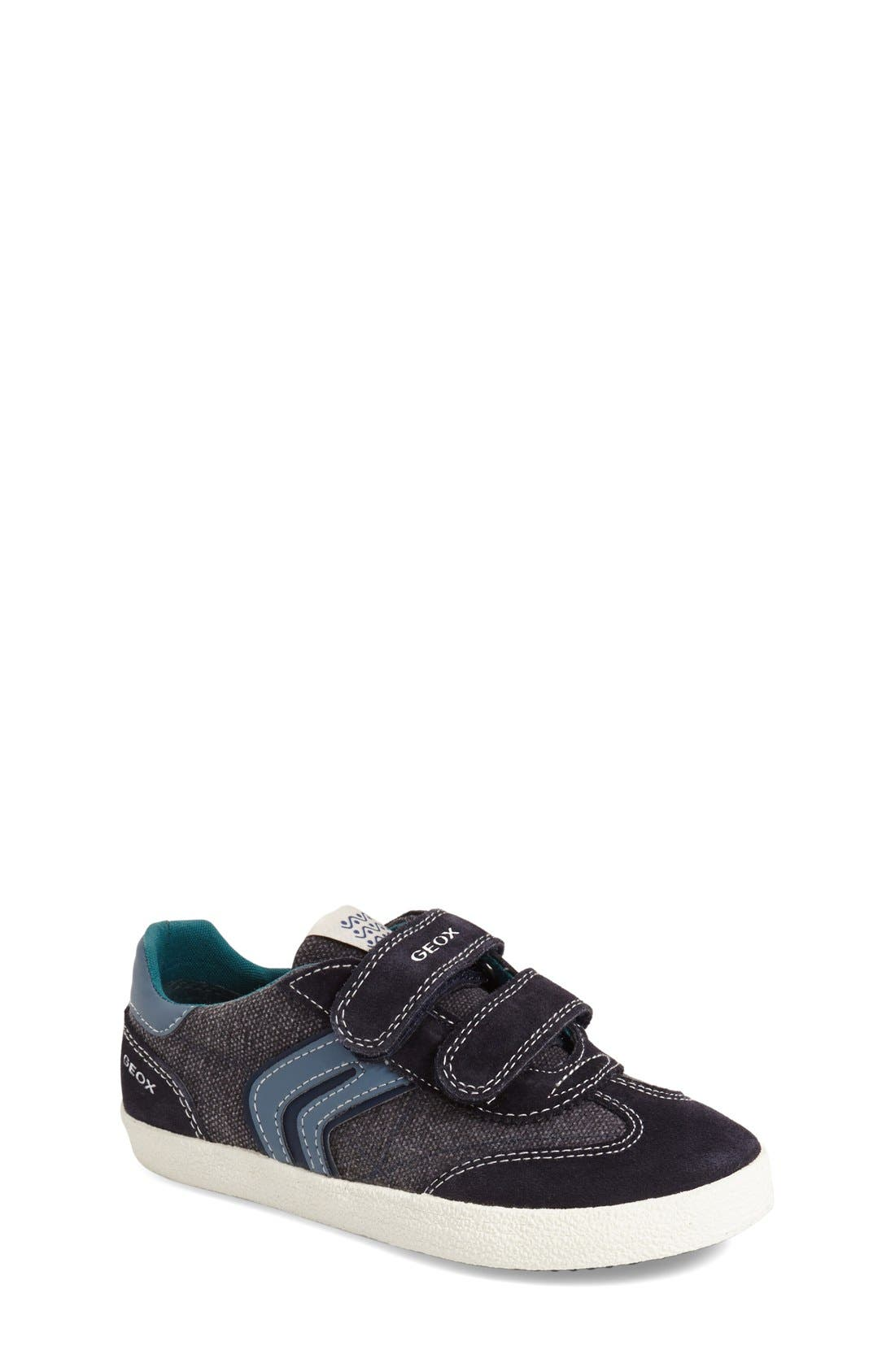 Alternate Image 1 Selected - Geox 'Kiwi' Sneaker (Toddler, Little Kid & Big Kid)