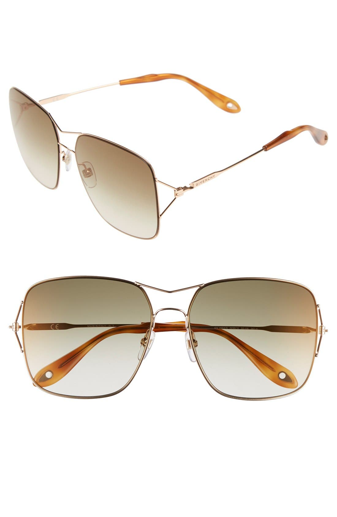 Main Image - Givenchy 58mm Sunglasses