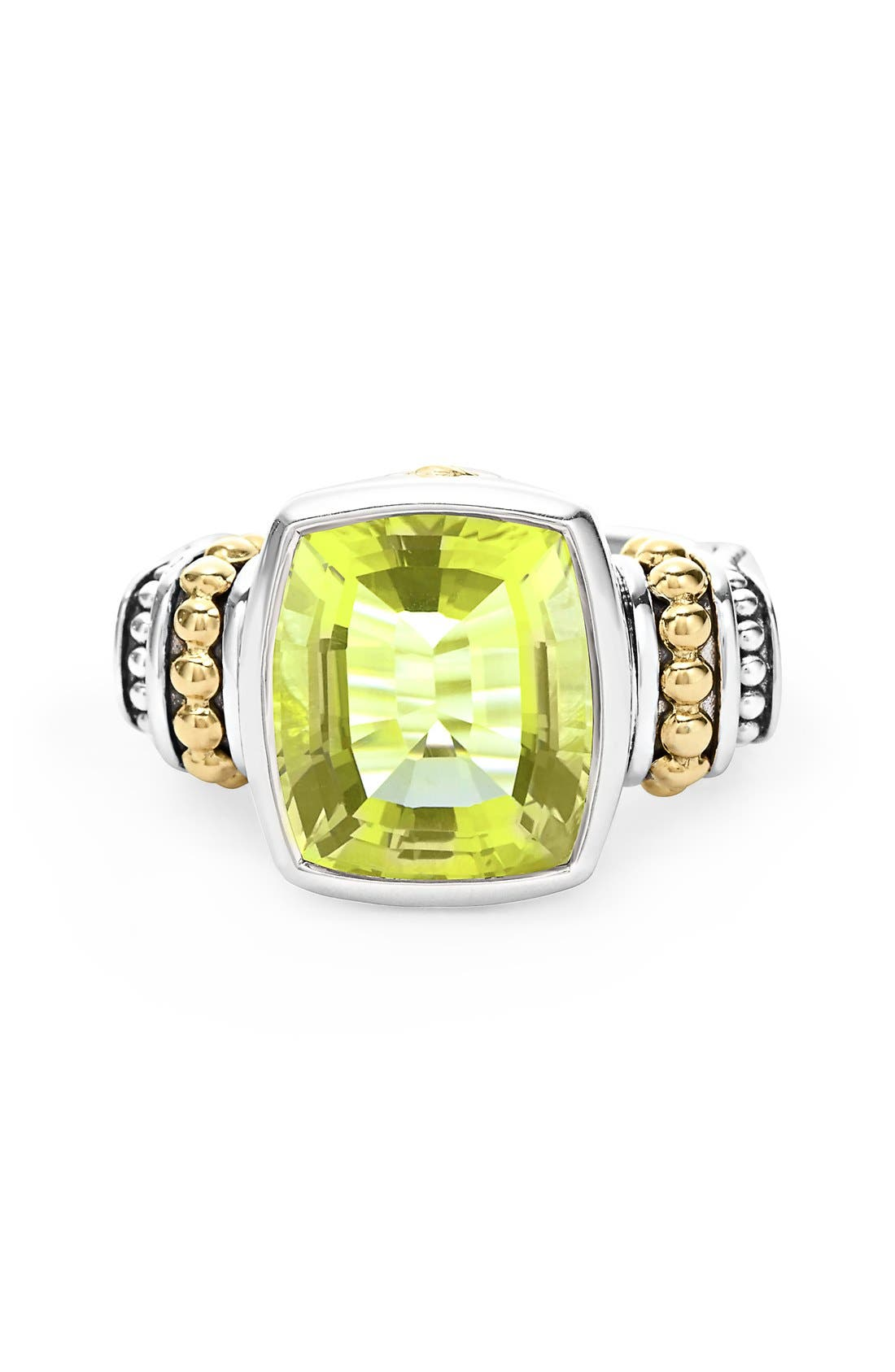 Alternate Image 3  - LAGOS 'Caviar Color' Medium Semiprecious Stone Ring