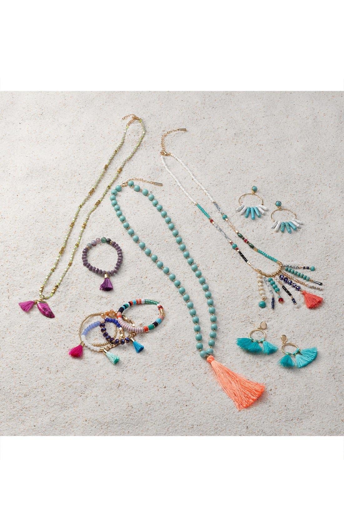Alternate Image 4  - BaubleBar 'Bali' Tassel Pendant Necklace