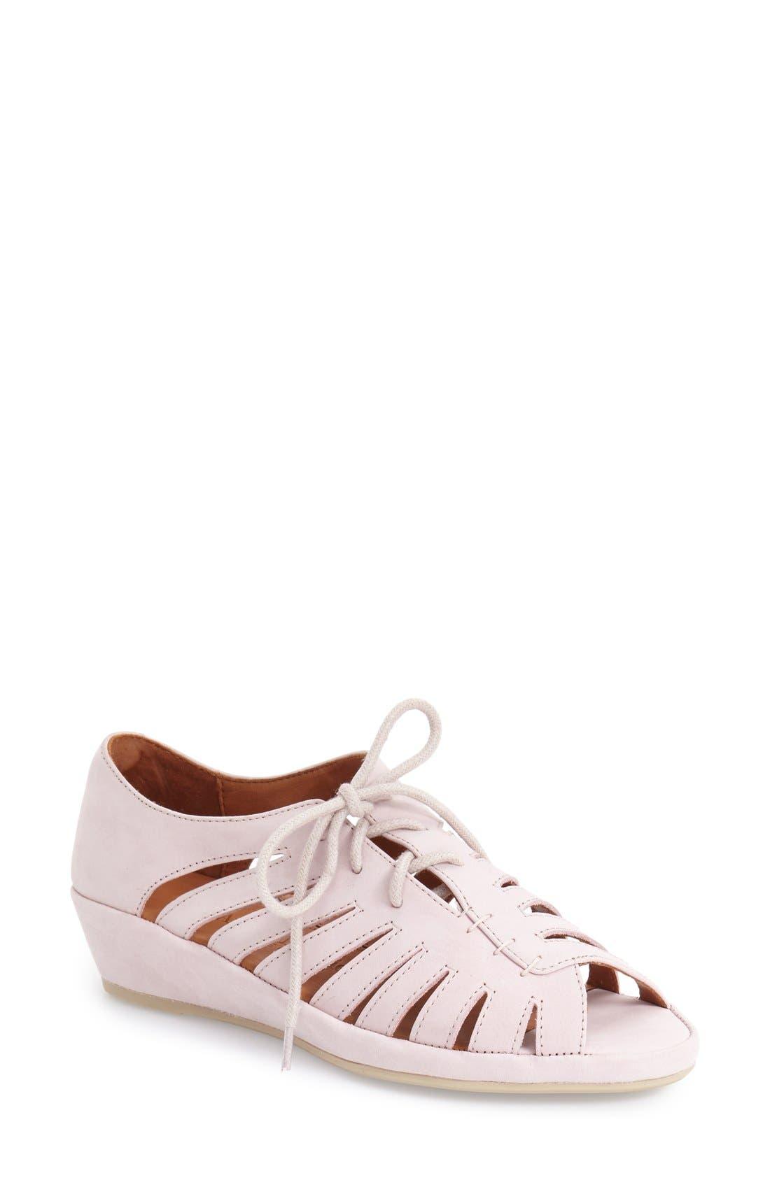Alternate Image 1 Selected - L'Amour des Pieds 'Bellina' Wedge Sandal (Women)