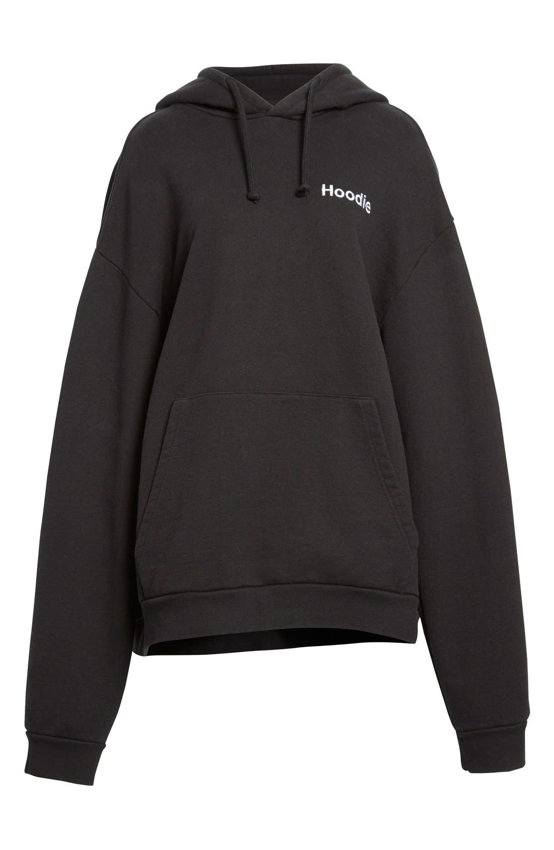 Alternate Image 4  - Vetements Oversize Hoodie