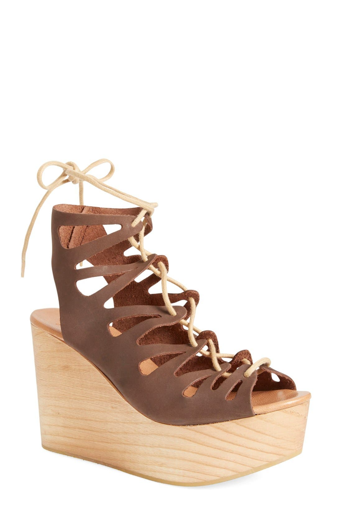 Alternate Image 1 Selected - Musse & Cloud 'Oneka' Lace-Up Sandal (Women)