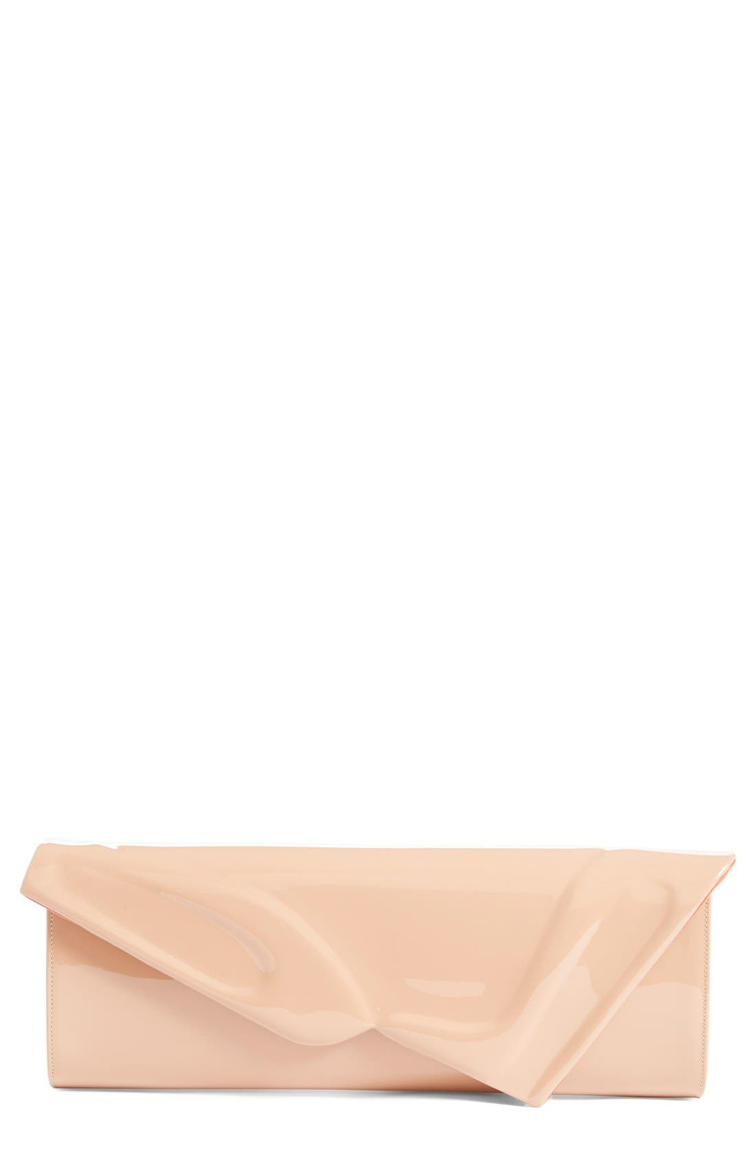 Main Image - Christian Louboutin 'So Kate' Patent Leather Clutch
