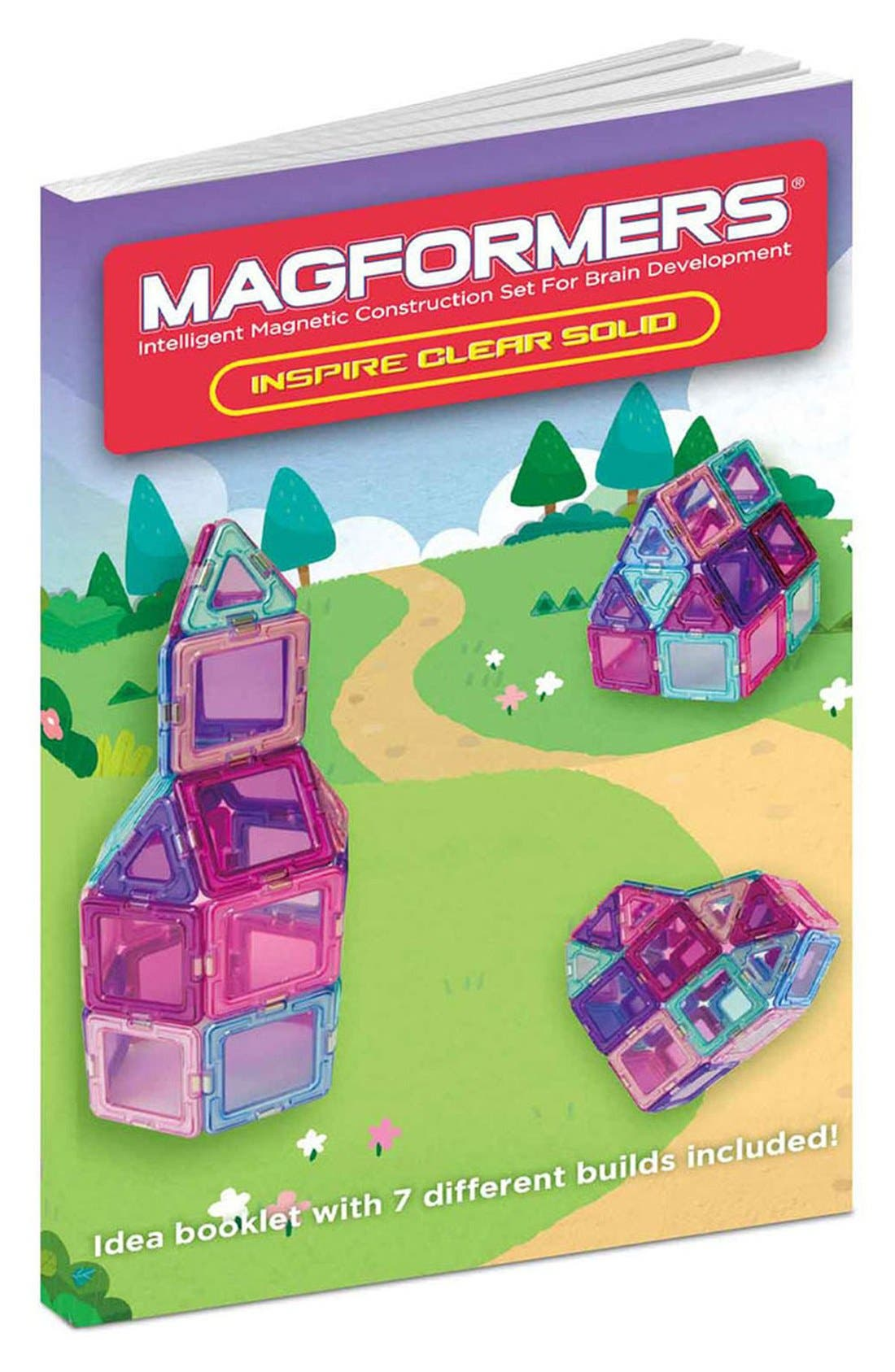 Alternate Image 3  - Magformers 'Inspire - Solids' Clear Magnetic 3D Construction Set