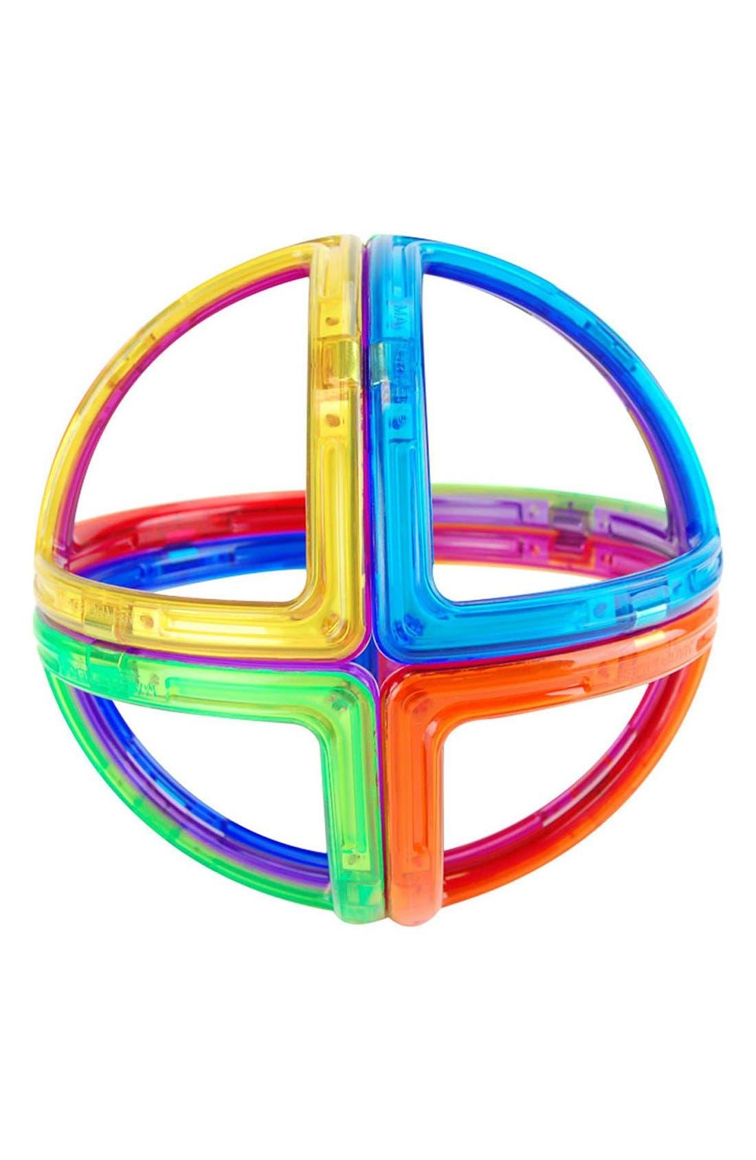 'Creator - Unique' Magnetic 3D Construction Set,                             Alternate thumbnail 5, color,                             Rainbow